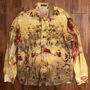Yashi yamamuri made in Italy crazy shirt medium